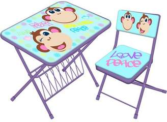 Generic Licensed Activity Folding Desk and Chair Set, Available in Multiple Prints