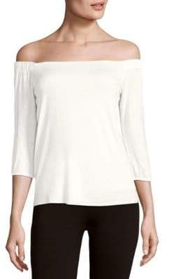 Bailey 44 Solid Off-The-Shoulder Top