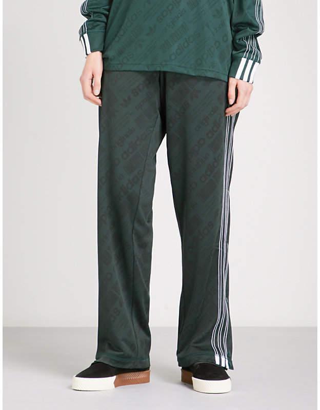 Adidas X Alexander Wang Jacquard-pattern jersey jogging bottoms