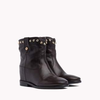Tommy Hilfiger Studded Leather Bootie