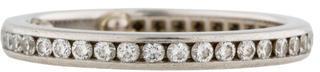 Tiffany & Co. Diamond Wedding Band $1,745 thestylecure.com