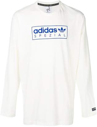 adidas graphic print T-shirt