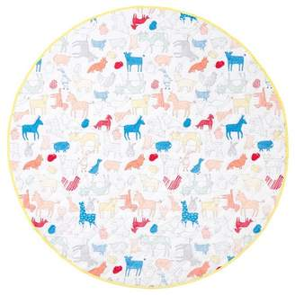 Hiccups Animal Farm Cotton Play Mat