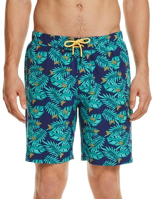 Sovereign Code Cannonball Banana Print Swim Trunks $59 thestylecure.com