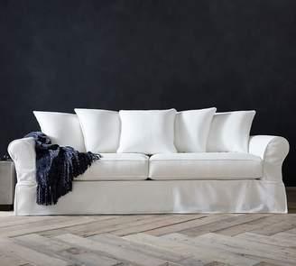 Pottery Barn PB Comfort Roll Arm Slipcovered Sofa