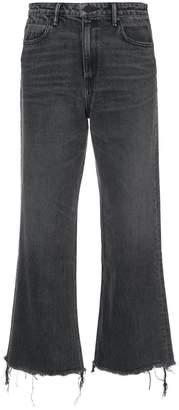 Alexander Wang wide leg jeans