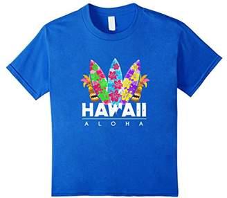 Aloha Hawaii T Shirt - Cool Surfing Aloha Tee