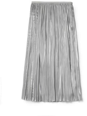 ESTNATION (エストネーション) - ESTNATION オーガンジーサテンプリーツスカート