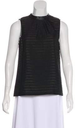 Tibi Textured Sleeveless Top