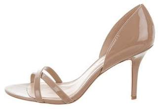 AERIN Patent Leather Multistrap Sandals