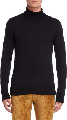 Maison Margiela Black Turtleneck Pullover Sweater