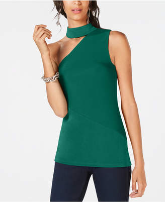 INC International Concepts I.n.c. One-Shoulder Choker Top, Created for Macy's