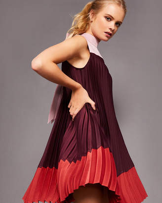 Ted Baker KIMMEA Pleated dress with bow