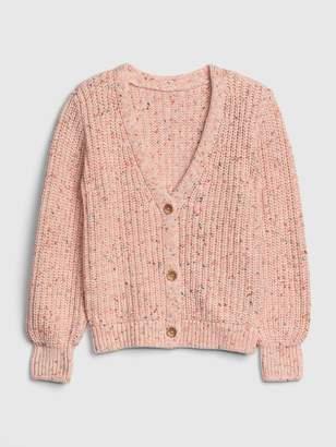 Gap Kids Texture-Knit Cardi Sweater