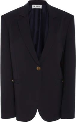 Monse Virgin Wool Back Rope Jacket