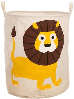 Household Essentials EOCEAN Canvas Foldable Waterproof Laundry Hamper Toy Storage Basket