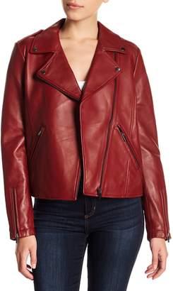 Bagatelle Leather Biker Jacket