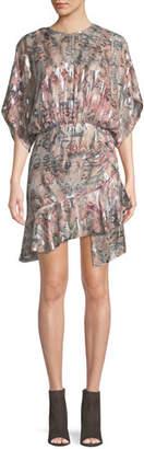 IRO Wobam High-Neck Short Dress