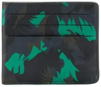 Tomas Maier camo palm card case