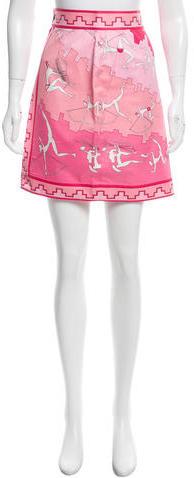 Emilio PucciEmilio Pucci Printed Mini Skirt