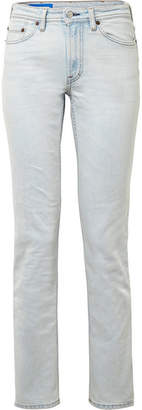Acne Studios South Mid-rise Straight-leg Jeans - Light denim