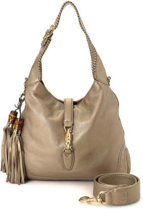 Gucci New Jackie Leather Shoulder Bag - Vintage