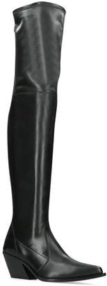 Givenchy Leather Lookbook High Boots