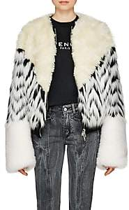 Givenchy Women's Faux-Fur Jacket - White