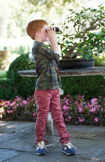 Camo Peek Henley Shirt (Little Boys & Big Boys)