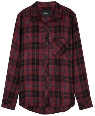 Rails Hunter Checked Rayon