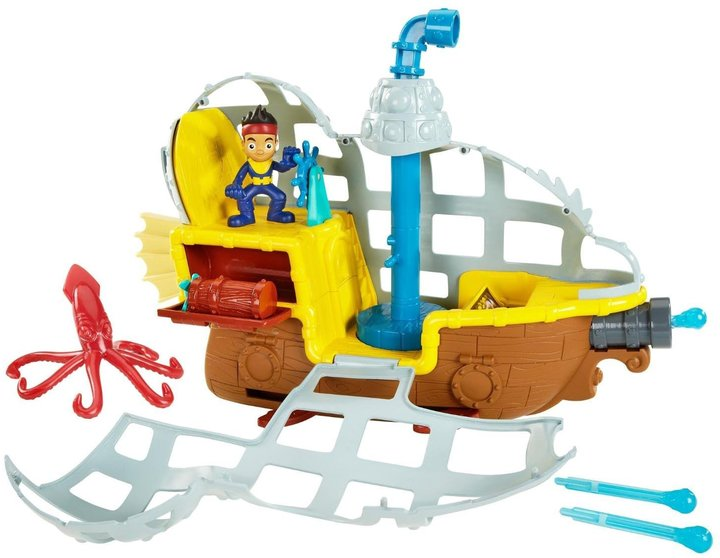 Fisher Price Disney Jake and the Never Land Pirates Rolling Sub