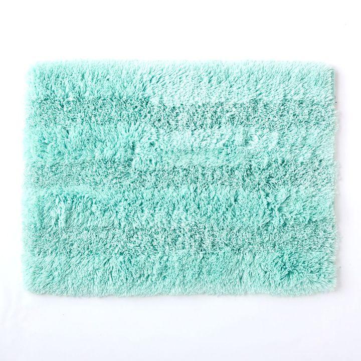 """Apt. 9 stripe plush bath rug - 17"""" x 24"""""""