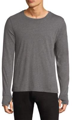 Burberry Marchston Burnout Long-Sleeve Tee