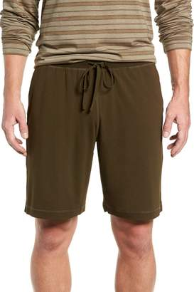 Daniel Buchler Stretch Cotton & Modal Lounge Shorts