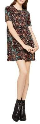 BCBGeneration Printed Mini Dress