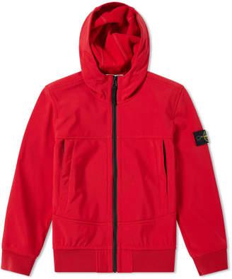 Stone Island Junior Hooded Soft Shell Jacket