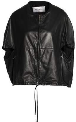 Valentino Leather Cape