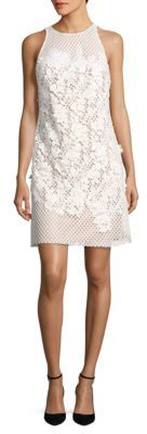 Vera Wang Lace Sheath Dress $328 thestylecure.com
