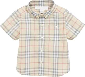 Burberry Traul Check Woven Shirt