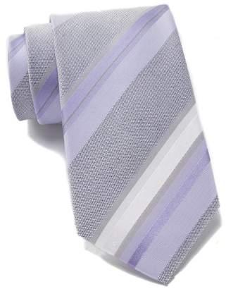 Kenneth Cole Reaction Ethan Silk Blend Stripe Tie