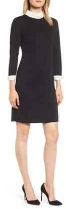 Karl Lagerfeld PARIS Faux Pearl Detail Dress