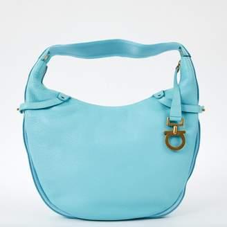 Salvatore Ferragamo Blue Leather Bags For Women - ShopStyle UK 0ead7f71874ec