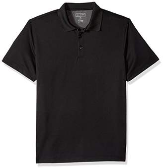 Van Heusen Men's Air Birdseye Short Sleeve Polo