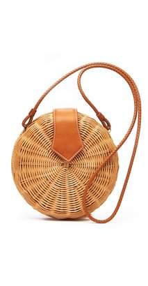 J.Mclaughlin Romina Wicker Crossbody Bag