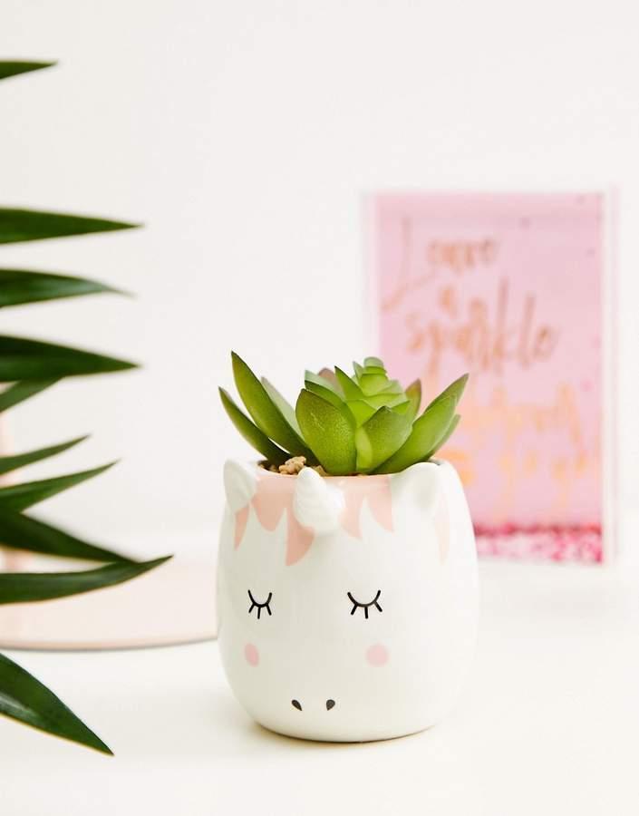 New Look Unicorn Planter