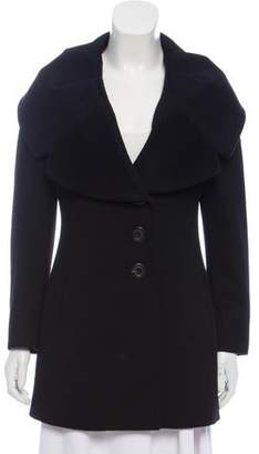 Luciano Barbera Short Cashmere Coat