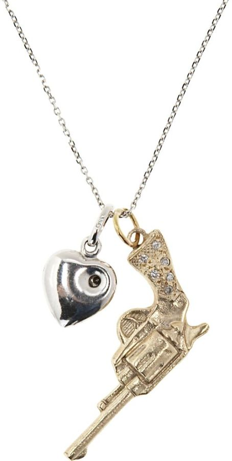 fettY Shot Through The Heart Necklace