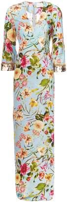 Sachin + Babi Grecia floral gown