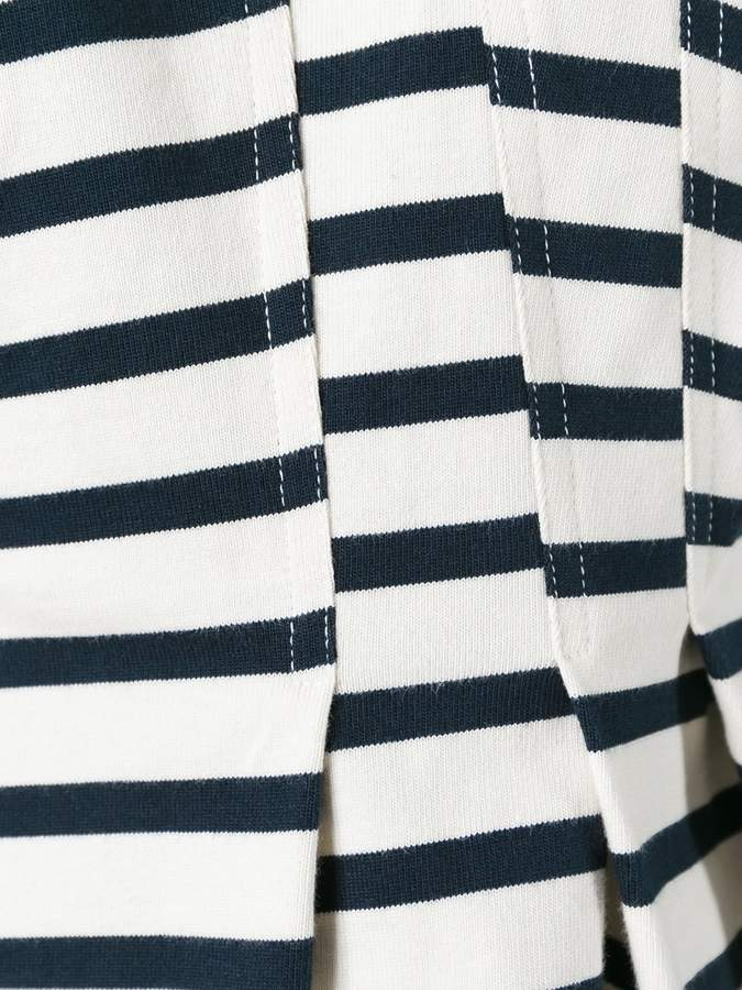 Alexander Wang striped peplum top