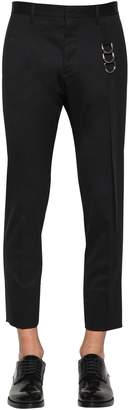 DSQUARED2 Cool Guy Stretch Wool Pants W/ Tape